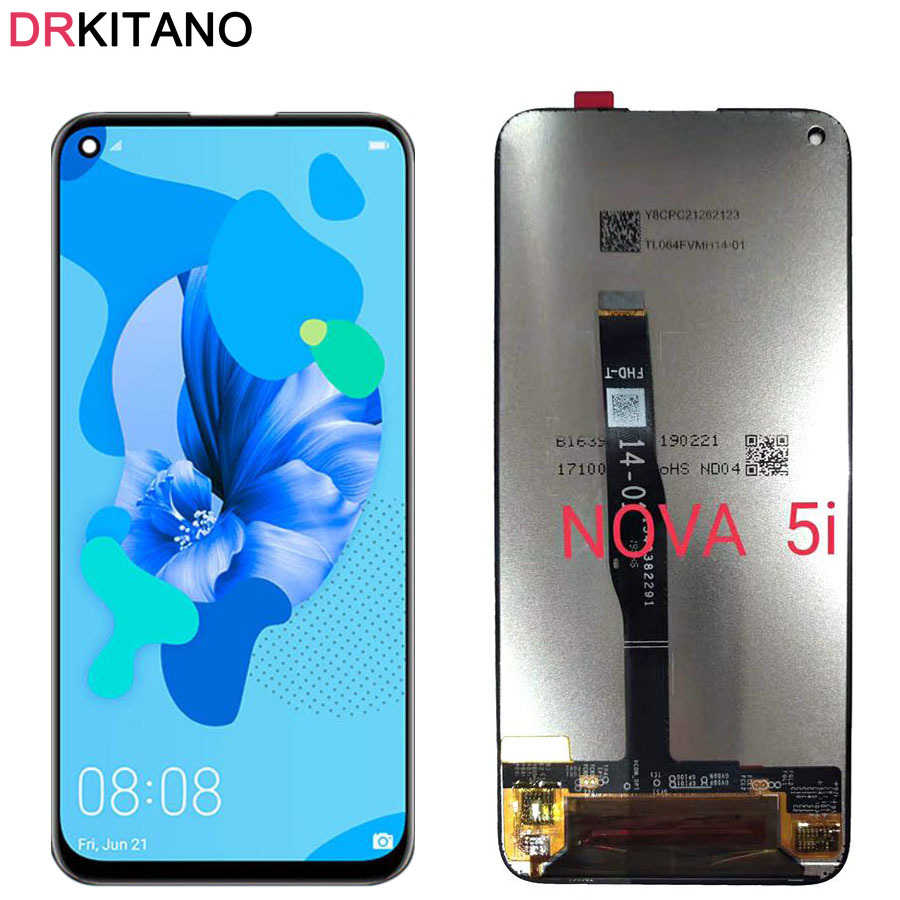 For Huawei Nova 5i LCD Display Touch Screen Digitizer Assembly Replacement For Huawei Nova 5i LCD