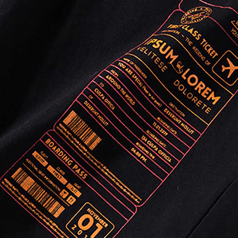 Bông Tai Kẹp Nhật Bản Áo Thun Nam Thư Quần Áo 2019 Quá Khổ Hip Hop TEE Áo Cotton Áo Phông Áo Mùa Hè Thời Trang Dạo Phố