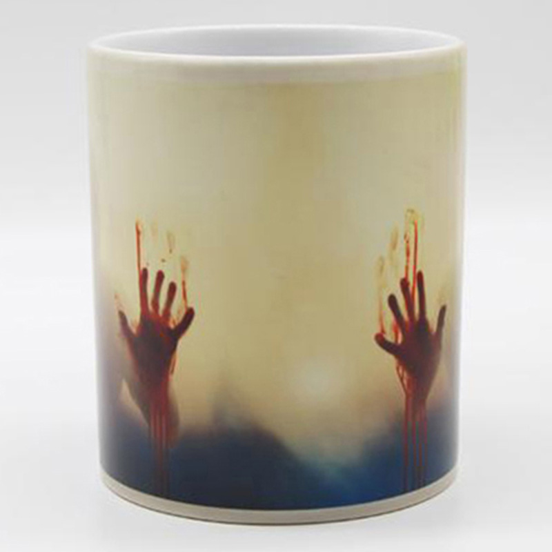 Color Heat Dead Changing Nocm The Coffee Sensitive Ceramic Mug Surprise Gift Walking OPwnk8X0