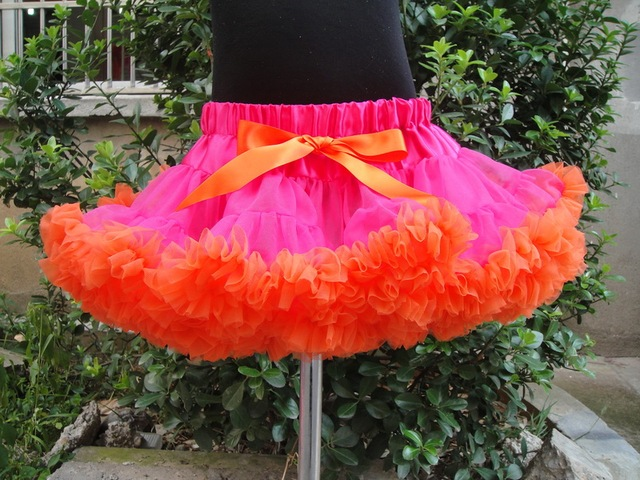 In stock Cute baby and young girl tutu pettiskirt in multi colors girls skirt PETS-059