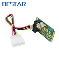 Mini PCI E To PCI E X1 Pci Express 1X Extension Cord Mini Pcie To Pcie