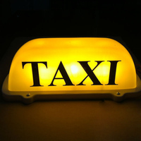 1 pcs 12V Taxi Led Sign Blue LED Windshield Taxi Light Lamp Car Windscreen Cab indicator Lamp