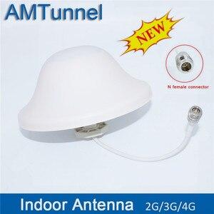 Image 1 - 3G 4G antenna 4G Omni antenna 800 2500Mhz GSM antenna del soffitto 5dBi N femmina per mobile del segnale ripetitore amplificatore