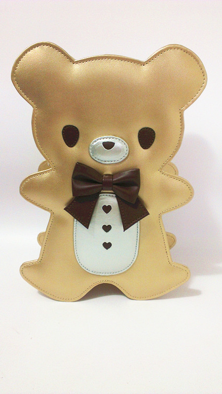 Princess sweet lolita backpack loris sweet soft sister adorable cute lovely Gingerbread bear teddy bear backpack loris044 odeon light подвесной светильник odeon light mirt 3367 1