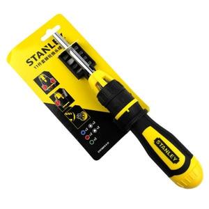 Image 4 - Stanley 11pcs multi purpose ratchet screwdriver set electrician good ratcheting screwdrivers toolkit replacement bit in handle