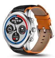 Original Finow X5 LEM5 hybird smartwatch impermeable tarjeta sim reloj inteligente acero reloj de larga vida corriendo salud reloj