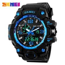 New Arrive SKMEI Mens Waterproof Electronic Watch Fashionable Multifunction Outdoor Sports High-end