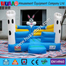 Commercial PVC Rabbit Inflatable Bouncer (CE blower+repair kit)