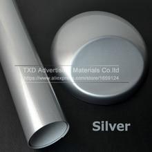 Wrap Vinyl Car-Sticker HOOD Silver for Roof-Car Glossy 10/20/30-/..