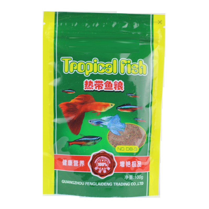Tropical Fish Food Feeder CHARACINIDAE Small Granule 100g With Protein Fat Calcium Phosphprus
