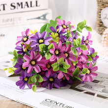 5 cm 20 head dancing orchid Autumn fake flowers daisy silk flower artificial flower for wedding diy Party decoration home decor цена и фото
