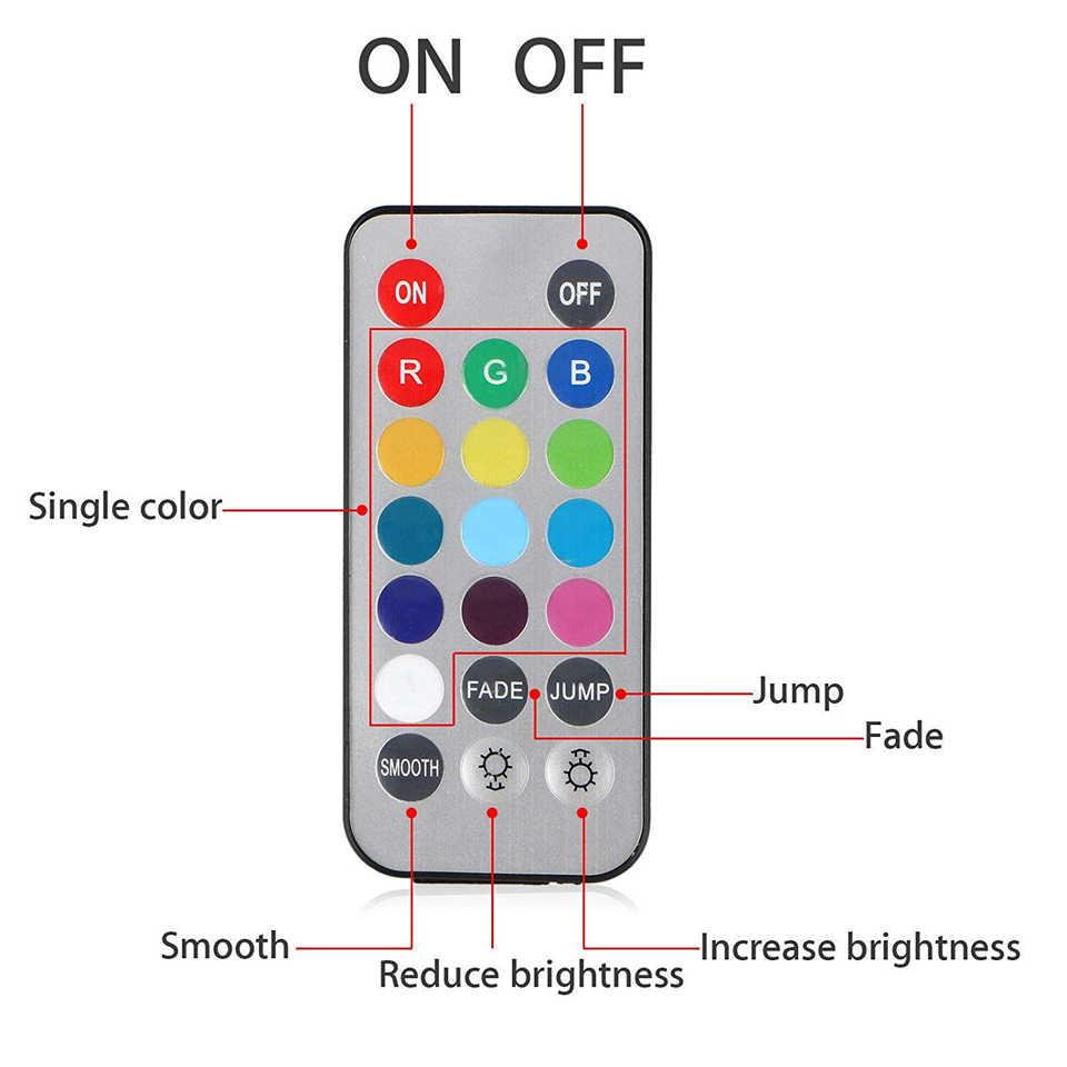 Xsky IP68 Водонепроницаемый Батарея батарейках светодиодные лампы; погружение мульти Цвет подводные огни лампы для Аквариум Пруд для рыб Свадебная вечеринка