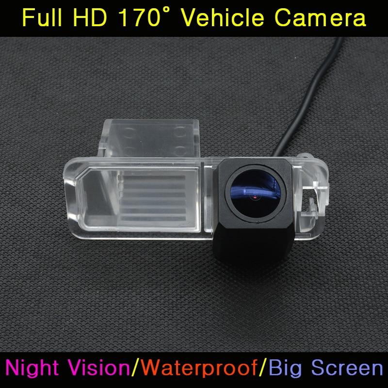 imágenes para Del coche del CCD HD 520 TV de Visión Nocturna para Estacionarse en Reversa Impermeable Cámara de Visión Trasera Para VW Polo V (6R) Golf 6 VI Passat CC Magotan