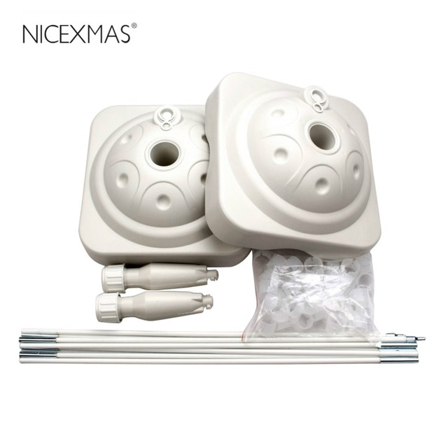 NICEXMAS Balloon Arch Stand Kit with Frame Base Stand and Pole for ...