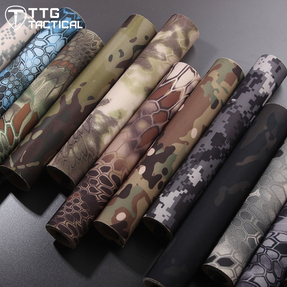 TTGTACTICAL Tactical Self Adhesive Camouflage Tape Elastic Camouflage Cloth Tape 150x30cm Hunting Rifle Protective Camo Tape 4pcs aluminum alloy 52 26mm tire hub wheel rim for 1 10 rc on road run flat car hsp hpi traxxas tamiya kyosho 1 10 spare parts