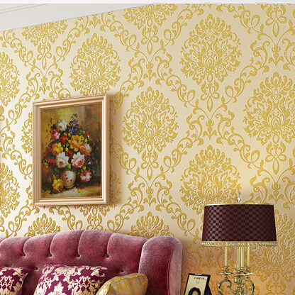 3d floral wall paper damask wallpapers roll europe classic tapete for living room bedroom home decor