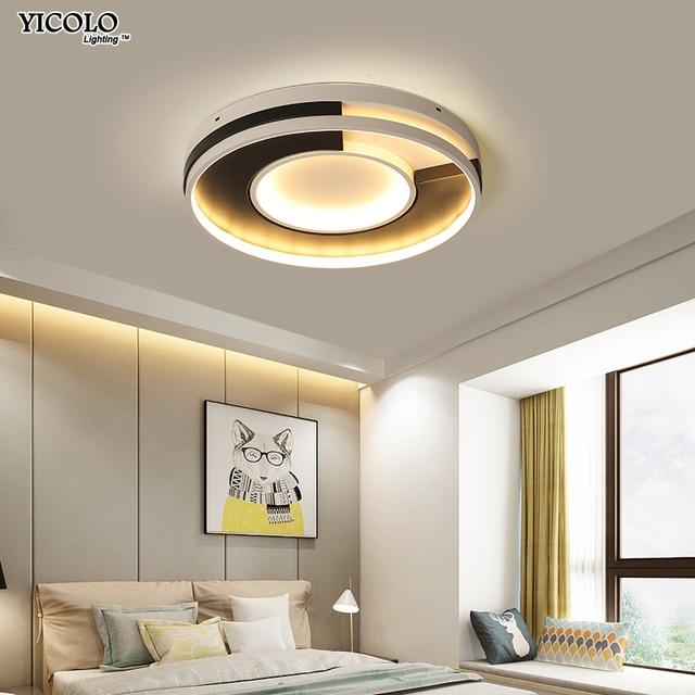 Modern LED ceiling lighting ceiling lamps for the living room round ...