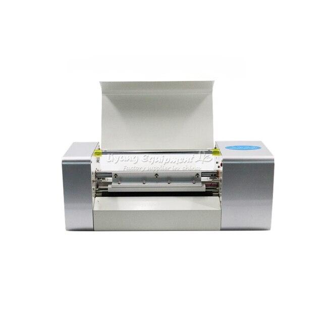 России нет налога 2019 последним LY 400A цифровой горячей фольгой штамповочная печатная машина лучшие продажи цветные Визитки печати