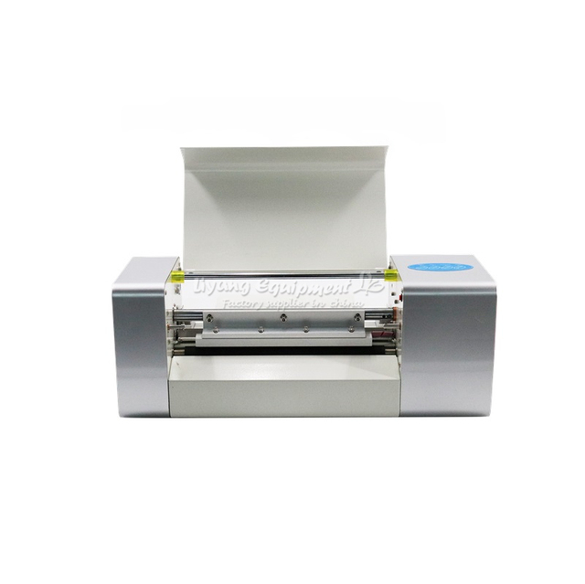 Russia no tax 2019 NEWEST LY 400A  digital hot foil stamping printer machine  best sales color business card printing