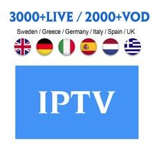 Code IPTV Spain Sweden Italian Germany UK Albania IP TV 1 Year Subscription Nordic IPTV Germany Italy Spain UK Albania IPTV Code цена 2017