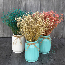 Starry real flowers Dried Flower preservation groceries window display wedding shoot dry naturally dried babys breath