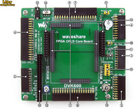 FPGA CPLD mother board, provides several I/O interfaces, supports various accessory boards
