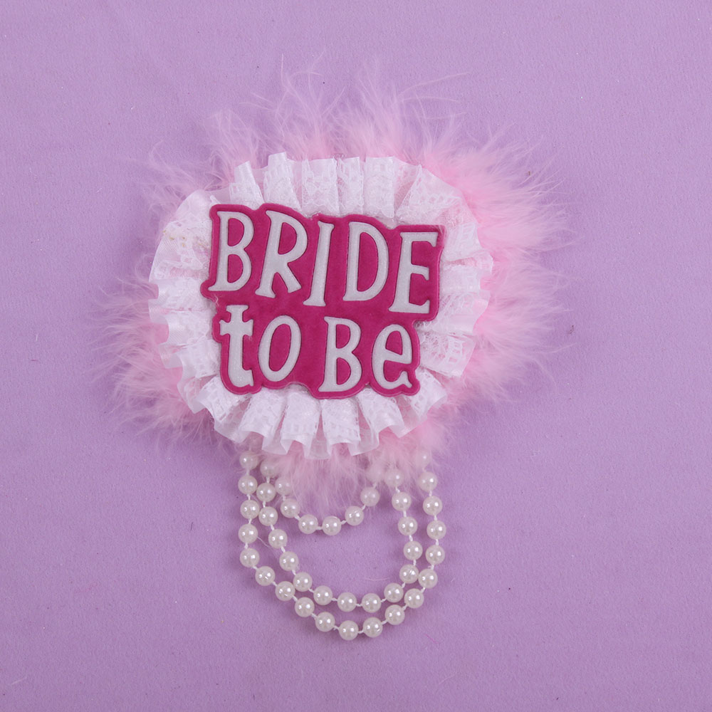 Spain Bachelorette party badge 50% off for 3pcs Wedding event brooch ...