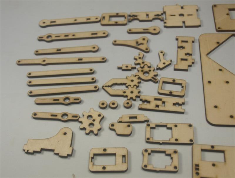 DIY MeArm - Your Robot - v1.0 laser cut wooden kit/set 3mm thickness pocket size arm robotDIY MeArm - Your Robot - v1.0 laser cut wooden kit/set 3mm thickness pocket size arm robot
