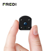 FREDI Mini IP Camera WiFi 1080P 2.0MP Security Camera Outdoor Portable Wireless Infrared Night Vision Surveillance CCTV Camera