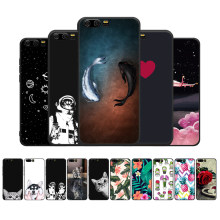 TPU Cover Phone Case For Huawei Honor 9 8 Lite Y9 2018 Enjoy 8 Plus Nova 2i 3E P8 P9 Lite 2017 P20 Lite Pro Cute Cat Fish Fundas(China)
