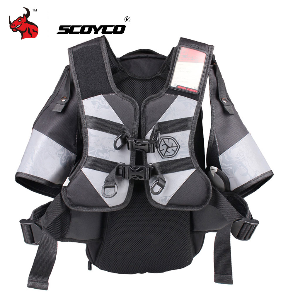 SCOYCO Motorcycle Bag Waterproof Saddle Bags Riding Travel Luggage Moto Bag Racing Tool Helmet Multifunction Motorcycle Backpack
