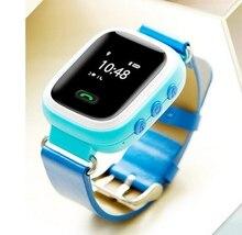 Nti Verloren GPS Tracker Uhr Für Kinder SOS Notfall Smartwatch armband Alarm für kinder jungen mädchen Apfel Android unterstützung SIM/TF