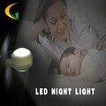 Детская комната ночь свет ЕС Plug ночник детские AC110V-220V 0.7 Вт night light Control Автоматический датчик ночные огни