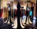 Custom Made Mermaid Long Evening Dress 2016 Vestido Longo Women Party Celebrity Dresses Gowns Custom Make Robe De Soiree