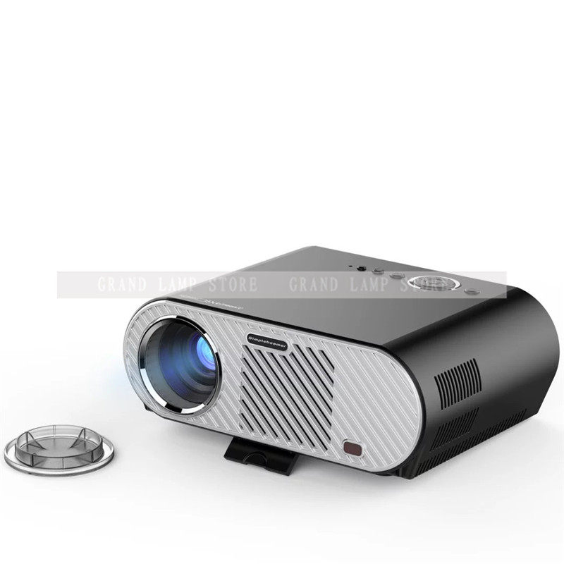 GP90UP Android 4.4 WIFI Bluetooth Portable LED Proyector 3D Beamer Projetor proy