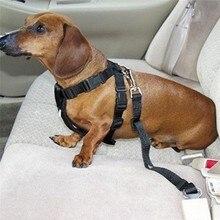Dog Pets Car Safety Seat Belt Harness Restraint Lead Adjustable Travel Clip