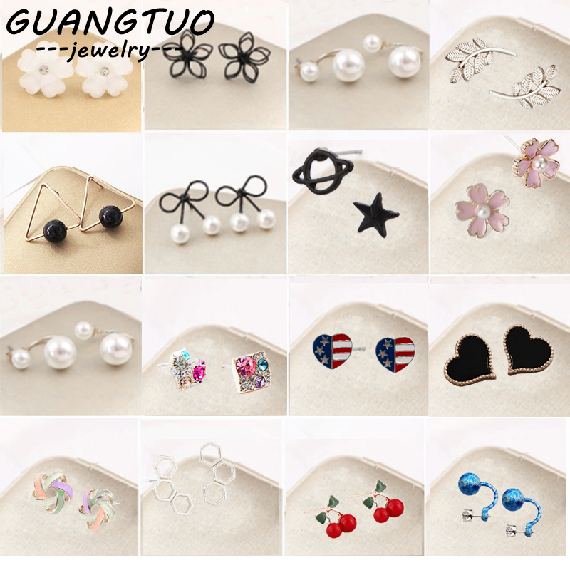 Stud-Earrings Jewelry-Accessories Women Pendientes Fashion New for Daily-Wear Bijoux
