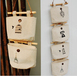 2014new Household Essential Supplies Cotton Tower Storage 6 Pockets Bag Bags Hanging Wall Debris Multilayer Fabric Pouch-in Storage Bags from Home \u0026 Garden ... & 2014new Household Essential Supplies Cotton Tower Storage 6 Pockets ...