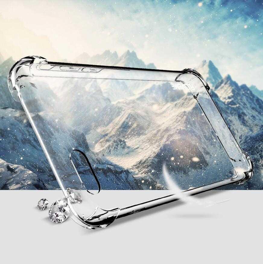 Anti-knock caso protectora para Huawei Mate 20 Pro P20 P10 P9 P8 Lite 2017 Nova 3E 3 3i 2 TPU Honor 10 9 8 7X 8X 6A 5C