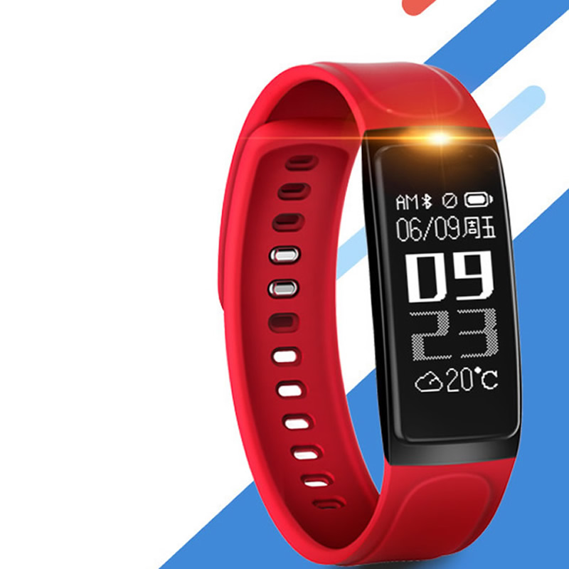 Luxury Silicone Led Red Sport Smart Bracelet Watches Men Women Outdoor Intelligent Watch Birthday Gift Hot Fashion Wristwatch black and red smart bracelet watch men women outdoor sport wristwatch silicone rectangle hot sale cool watches intelligent clock