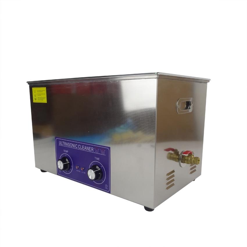 1 ADET PS-100 600 W 30L ısı ve zamanlayıcı Ultrasonik Temizleyici - Ev Aletleri