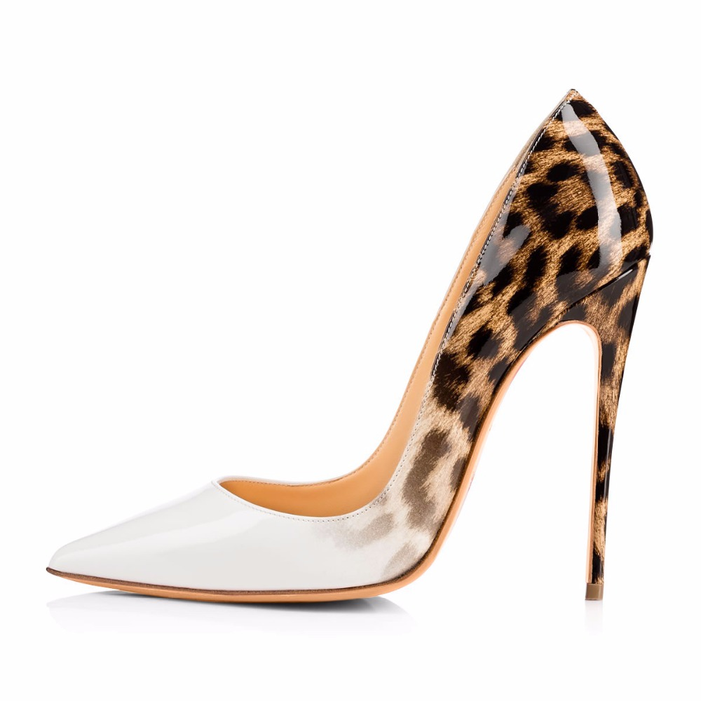 5a1287c360ee Tailingjia women pumps spring white font leopard font shoes extremely high  heels ladies jpg 1000x1000 Leopard