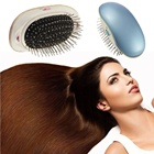 Portable Electric Ionic Hairbrush Takeout Mini Hair Brush Comb Massager Small