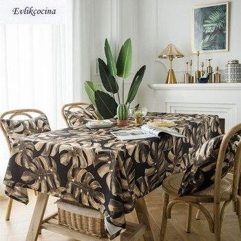 Mantel De hojas De café, Tafel Hoes Nappe Impermeable, cubierta De Mesa De comedor, decoración para el hogar, Mantel Mesa, envío gratis