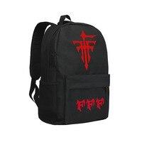 FFF Teams Shoulder Bag Follow Foolish Fukanzenna Ketsumatsu Backpacks Children Bookbag