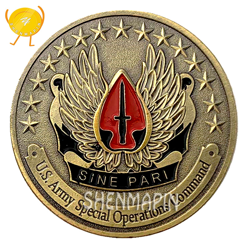 *US Army Special Forces Airborne Commemorative Challenge Coin Special Operations
