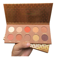 NEW Too AURELIFE 12 Color Shimmer Eye Shadow Matte Eyeshadow Palette For Faced Caramel Melange Sweet