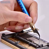 Manual Polishing Mobile Hard Disk CPU Edge Glue To Remove Machetes In Addition To The Side