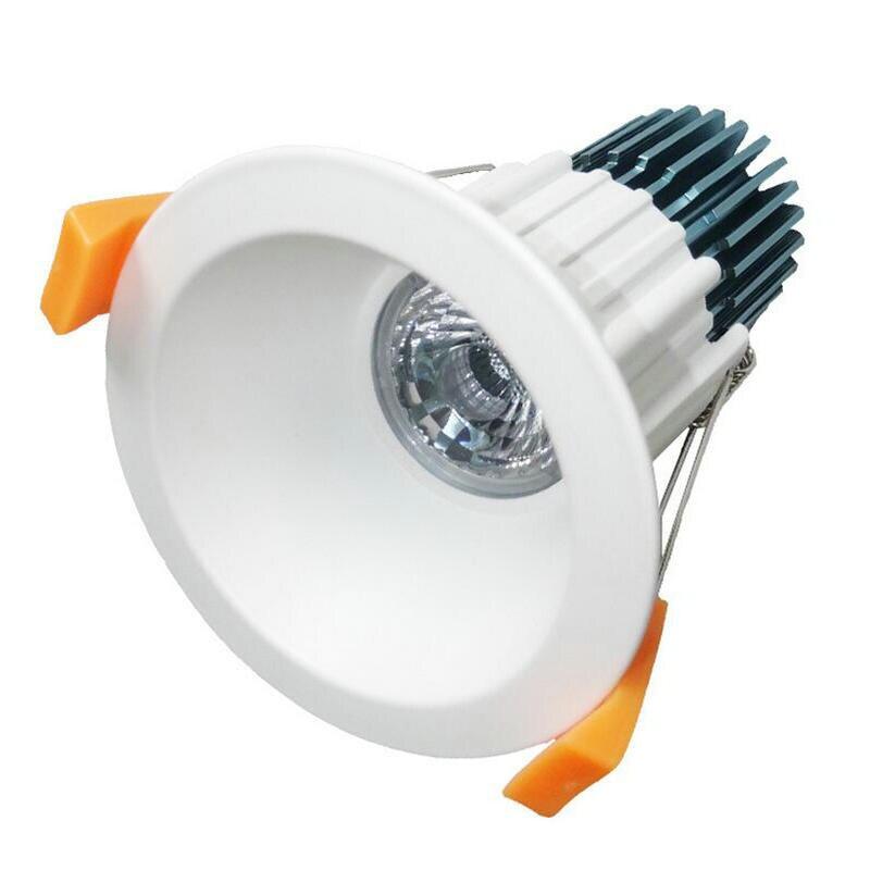 Оптовая продажа-2016 newest-12w удара Светильники потолочные светодиодные встраиваемые светильник лампа Свет теплый/холодный белый AC85-265V включен...