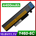 4400mAh laptop battery for LENOVO IdeaPad B560 Y460 V560 Y560 121000916 121000918 121001033 57Y6440 57Y6567 57Y6568 L09N6D16